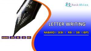 Descriptive Paper Letter Writing for SBI