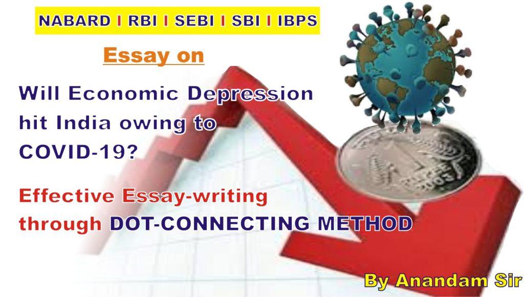 Economic Depression due to covid-19