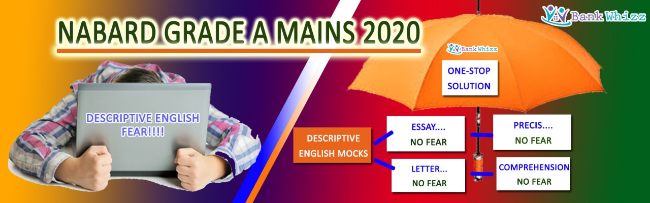 FREE COURSE - NABARD MAINS 2020 Click here