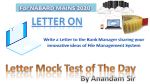 letter mock of the day