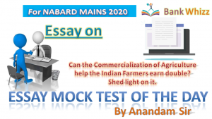 Essay mock of the day