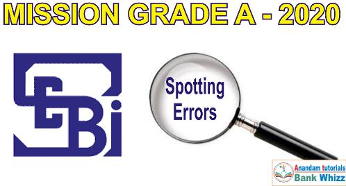 SEBI Grade A English Preparation