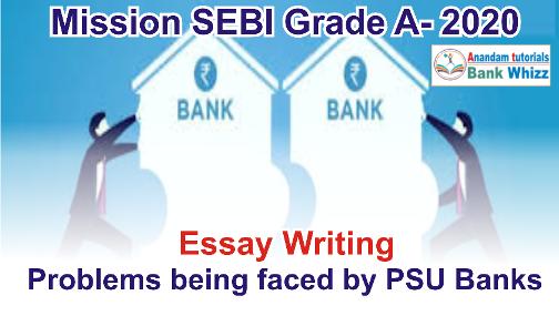 SEBI Grade A Essay-2020
