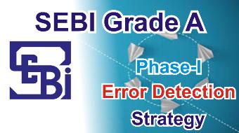 SEBI Grade A Error Detection
