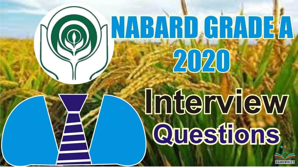 NABARD Interview Questions