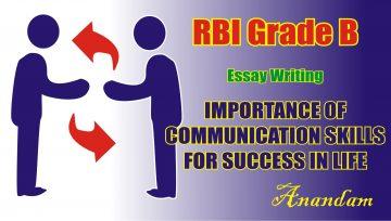 RBI Grade B Descriptive Paper Preparation