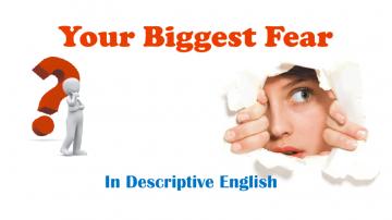 Descriptive English, Essay