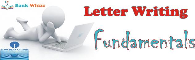 sample letter writing for sbi po exam