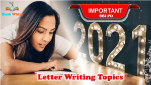 sbi po letter writing