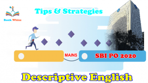 SBI PO descriptive english