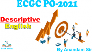 descriptive English for ECGC
