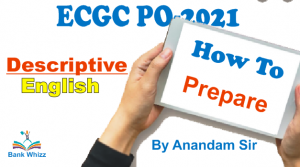 how to prepare for ECGC PO
