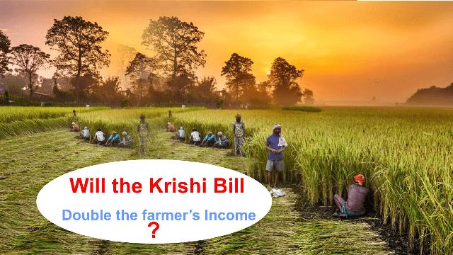 Will the krishi bill double the farmers income