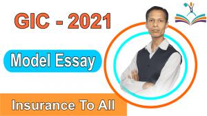 Model essay Insurance