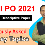 Previously asked essay topics