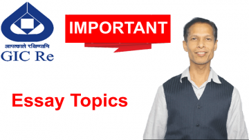 Most Important / Probable Essay Topics for GIC-2021