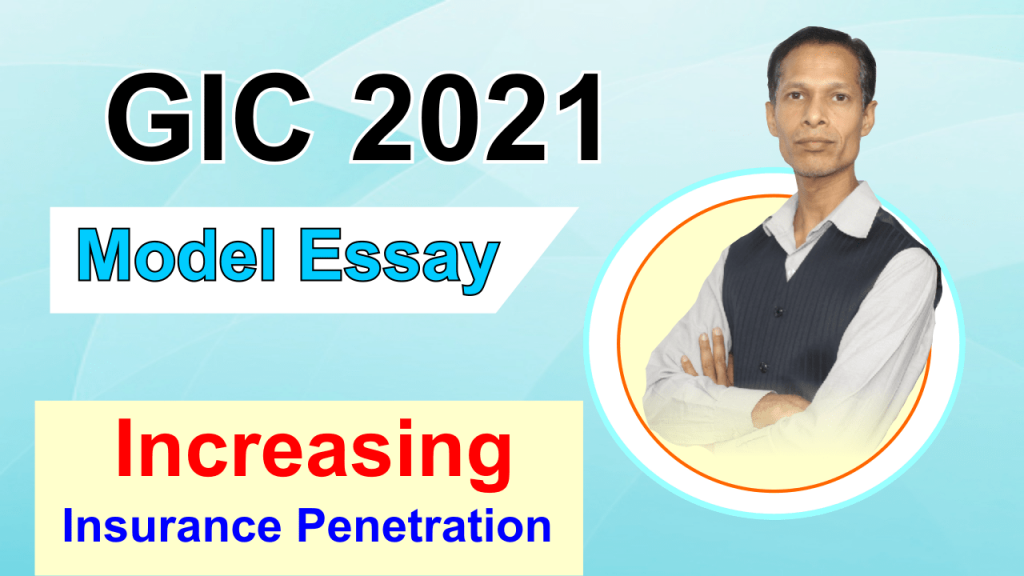 Model essay GIC 2021
