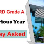 NABARD Grade A Essay Asked