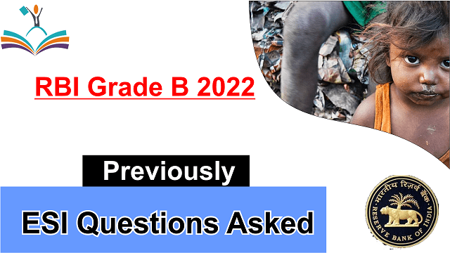 ESI Mocks RBI Grade B