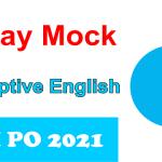 SBI PO 2021 Essay Mock