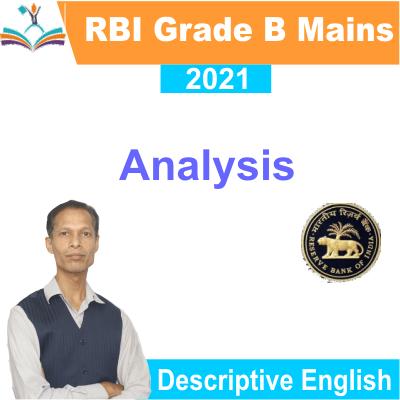 RBI Grade B 2021 analysis