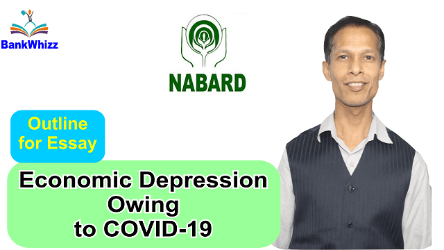 NABARD essay outline for covid 19
