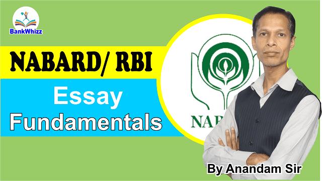 essay fundamentals NABARD RBI
