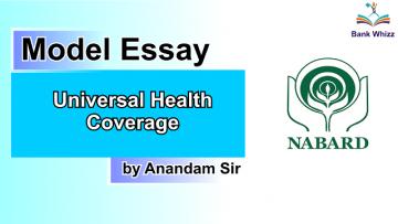 model essay - Universal Health Coverage