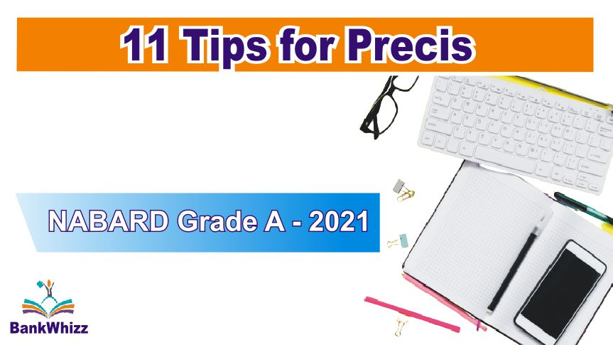 Tips for precis writing