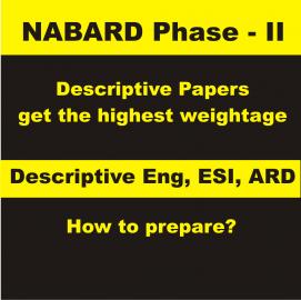 NABARD Mains Descriptive Paper Preparation