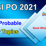 probable letter topics for SBI PO